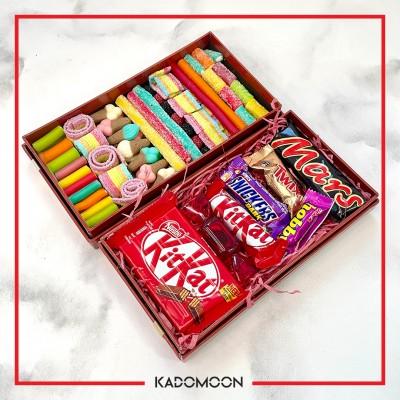 جعبه جفتی پاستیل و شکلات