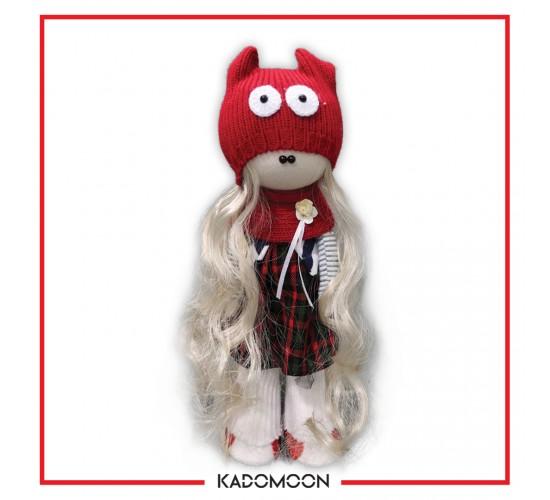 عروسک روسی دختر قرمز