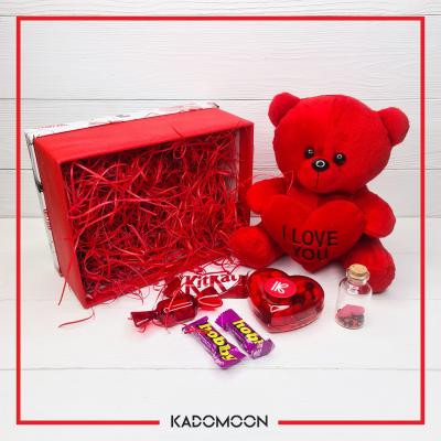 پک هدیه خرس و شکلات