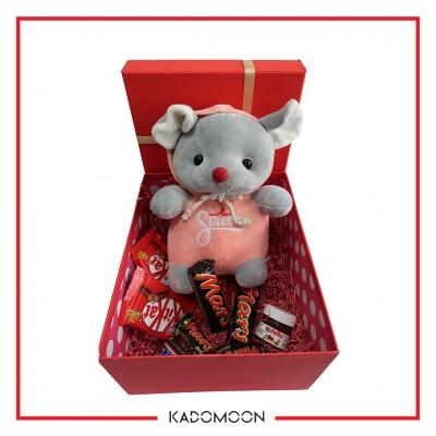 پک هدیه عروسک موش