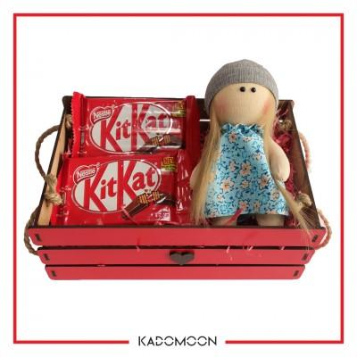 پک هدیه عروسک روسی و شکلات کد 01