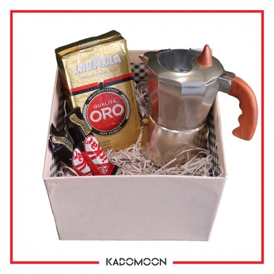 پک هدیه موکاپات و قهوه کد04