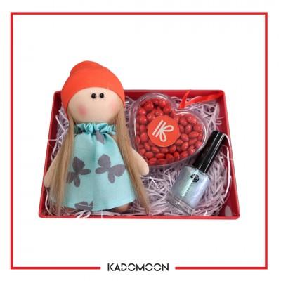 پک هدیه عروسک روسی و لاک