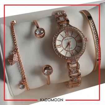 ست ساعت و دستبند Anne Klein